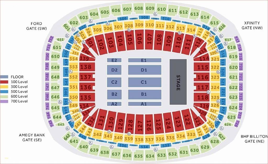 Bucs Stadium Seating Chart Di 2020