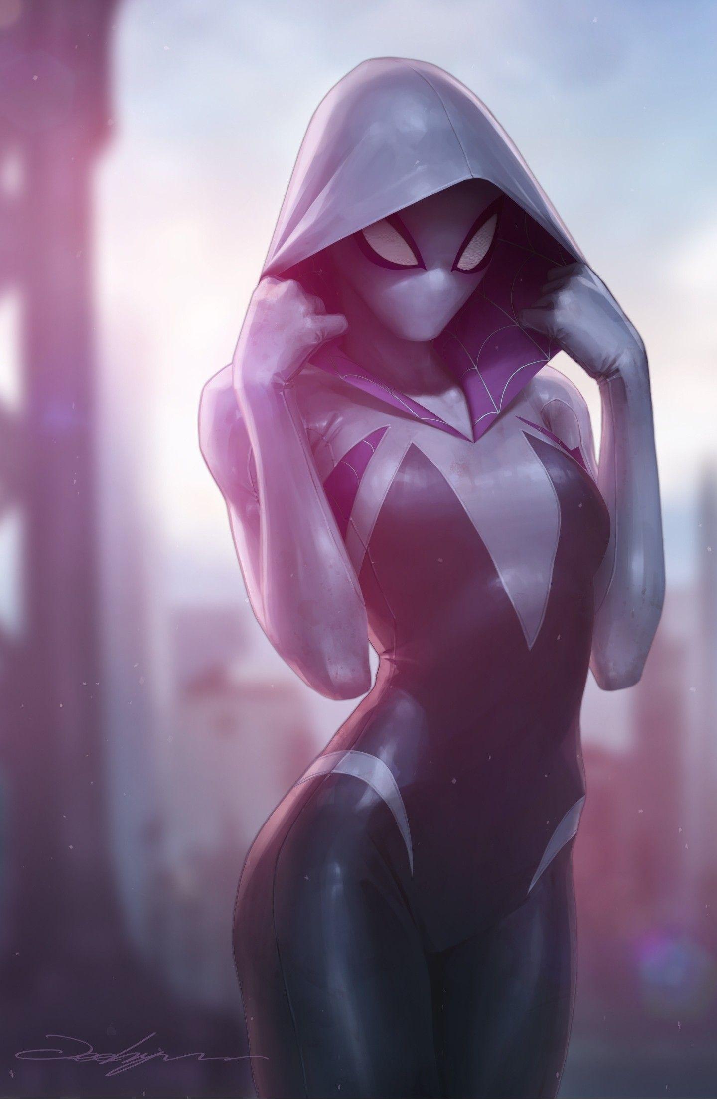 Gwen Stacy 2 Jeehyung Lee In 2020 Spider Gwen Gwen Stacy Marvel Spider Gwen