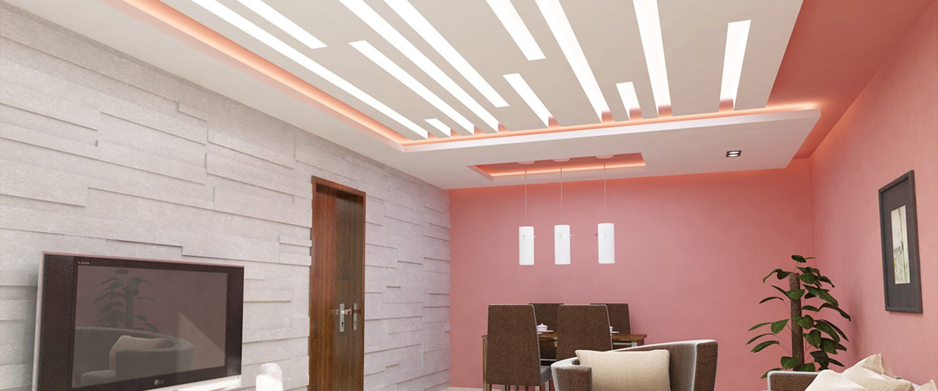 False Ceiling   Gypsum Board   Drywall   Plaster  Saint ...