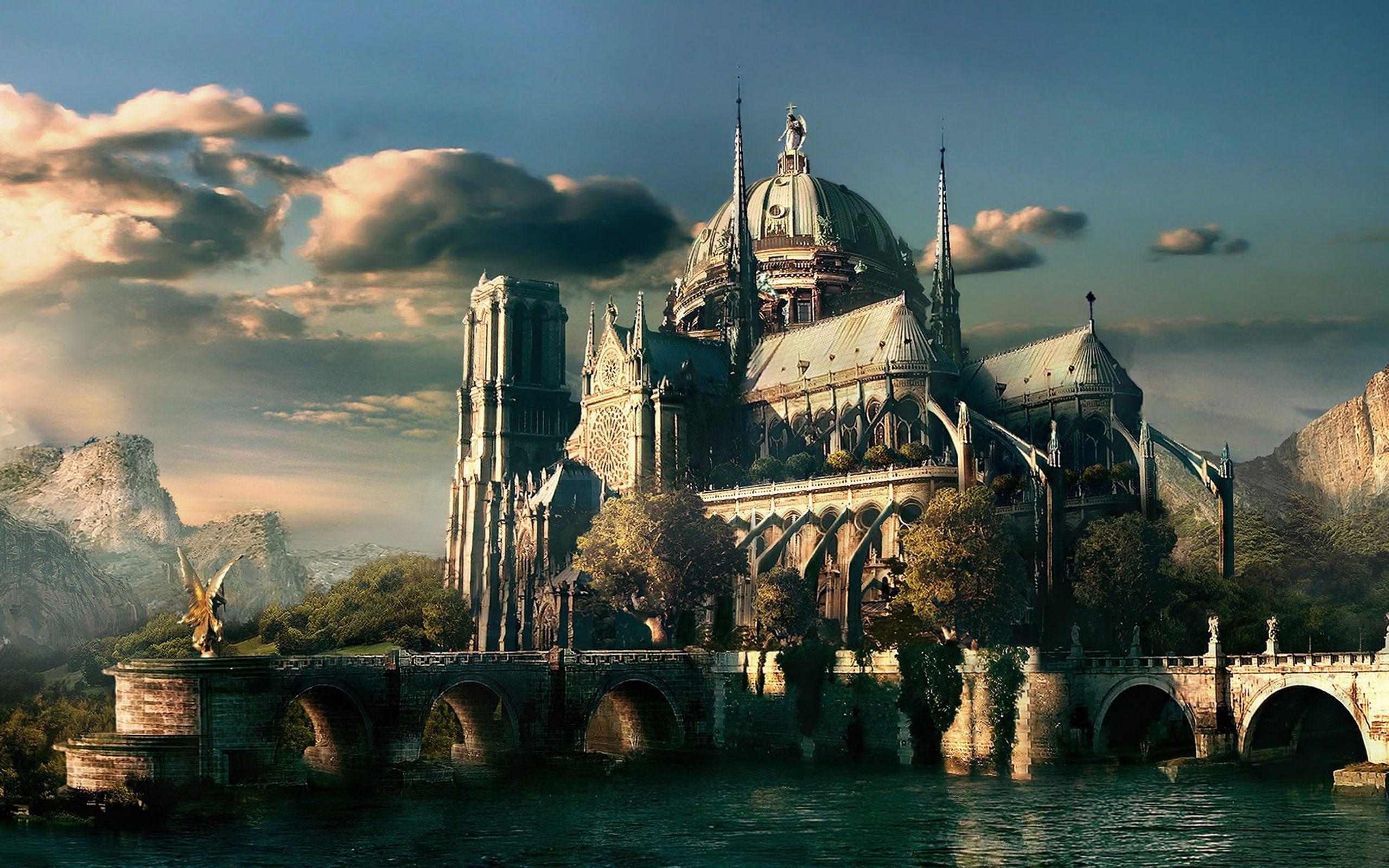 Castle from stories an art misc stuff wallpapers hd - Fantasy wallpaper 720p ...