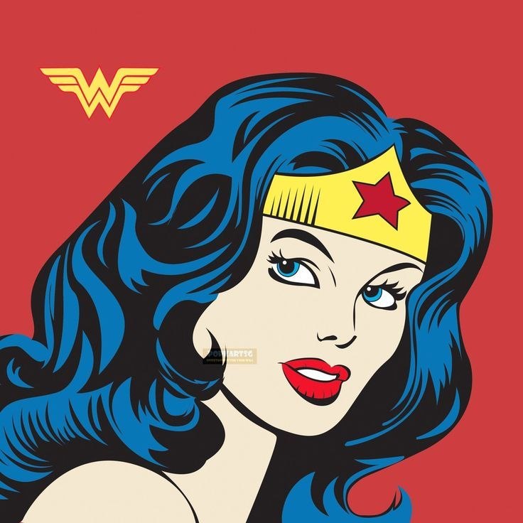 Resultado de imagen para pop art wonder woman superman