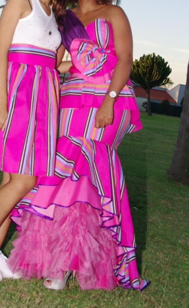 Modern venda traditional wedding dress african attire for Modern wedding guest dresses