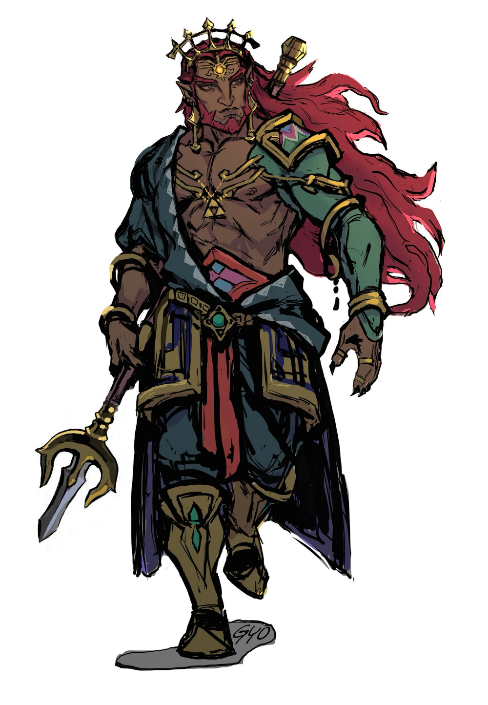 Ganondorf From The Breath Of The Wild 2 Legend Of Zelda