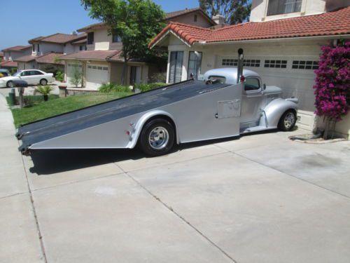 1946 Chevy Tow Truck Street Rod Custom Chopped Dually Car Hauler
