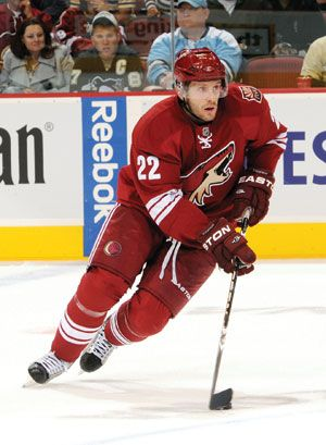 Lee Stempniak With The Phoenix Coyotes Talks About Going Green