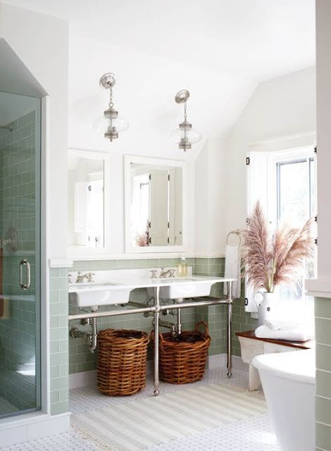 From modern country style blog modern country bathroom
