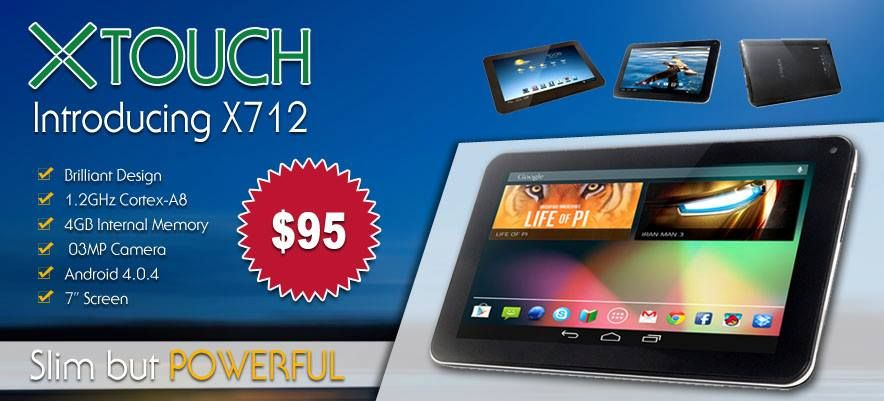 Xtouch X712 (7inch, 4GB, 1.2GHz)