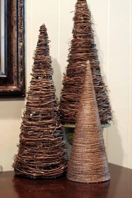 25 Rustic DIY Christmas Decorations DIY Christmas, Decoration and - christmas decorations diy