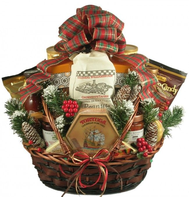 A Country Christmas gift basket | Christmas Gift Baskets | Pinterest ...