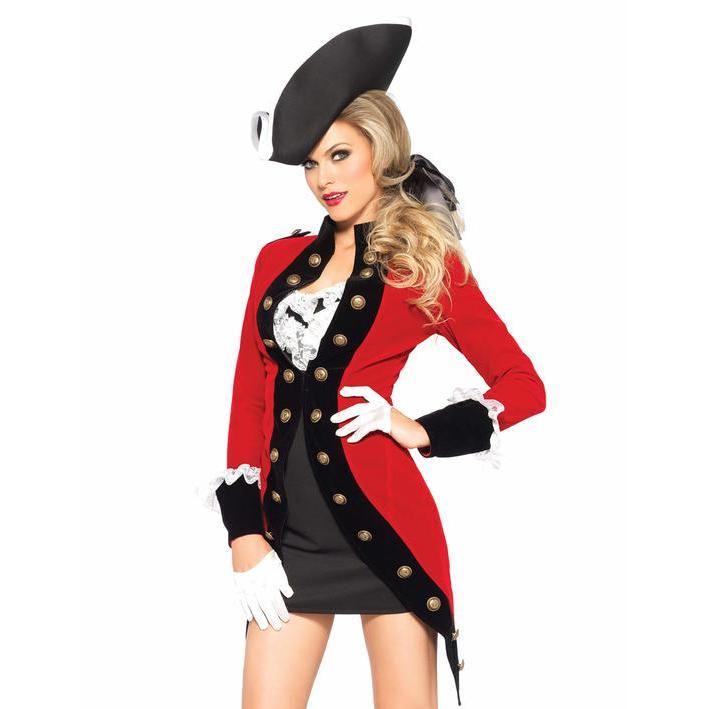 3860c5185a980 Disfraz de capitán inglés para mujer en 2019