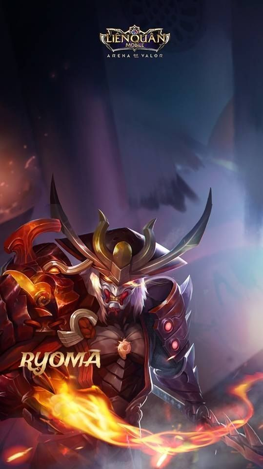 Ryoma Skin Arena Of Valor Aov Arena Of Valor Wallpapers Pinterest Mobile Legends Game Art And Games