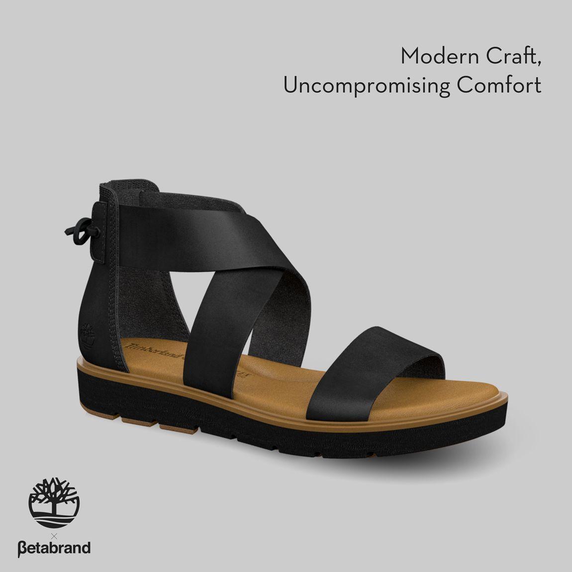 Timberland Gladiator Sandals (Black