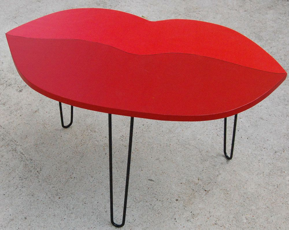 lips handmade coffee table coffee