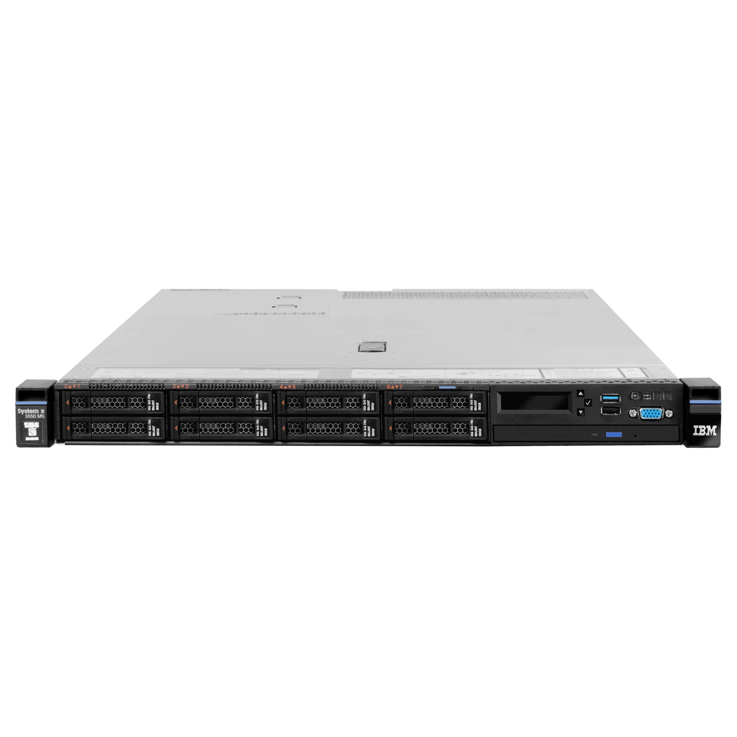 Lenovo System x x3550 M5 8869KDU 1U Rack Server - 1 x Intel Xeon E5-2
