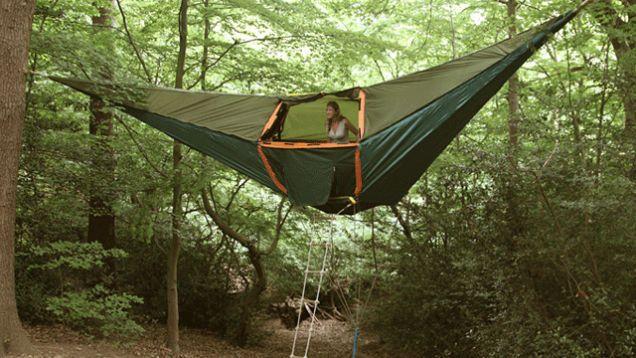 Lawson Hammock Tent Camping Pics