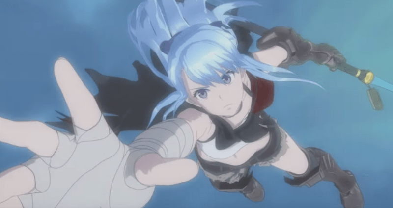 Check out the trailer for Mixi's second anime movie