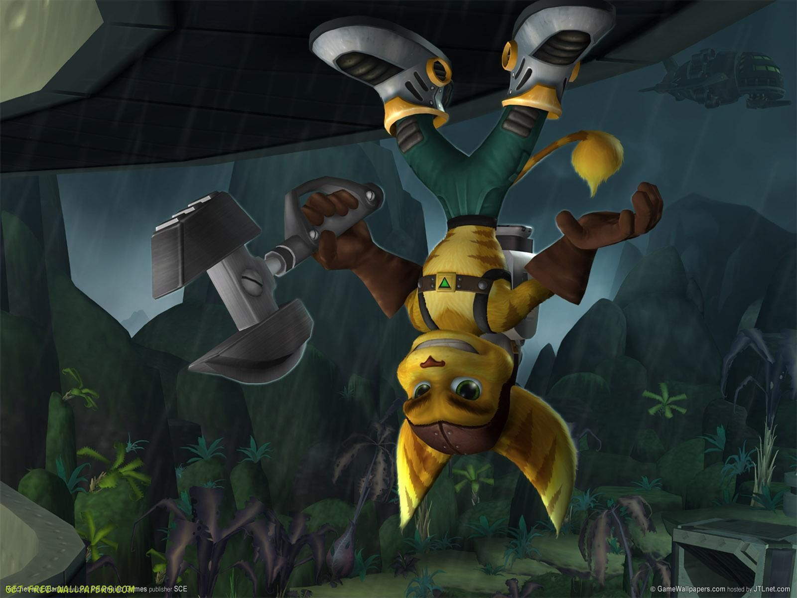 cool ratchet and clank deadlocked wallpaper 46219