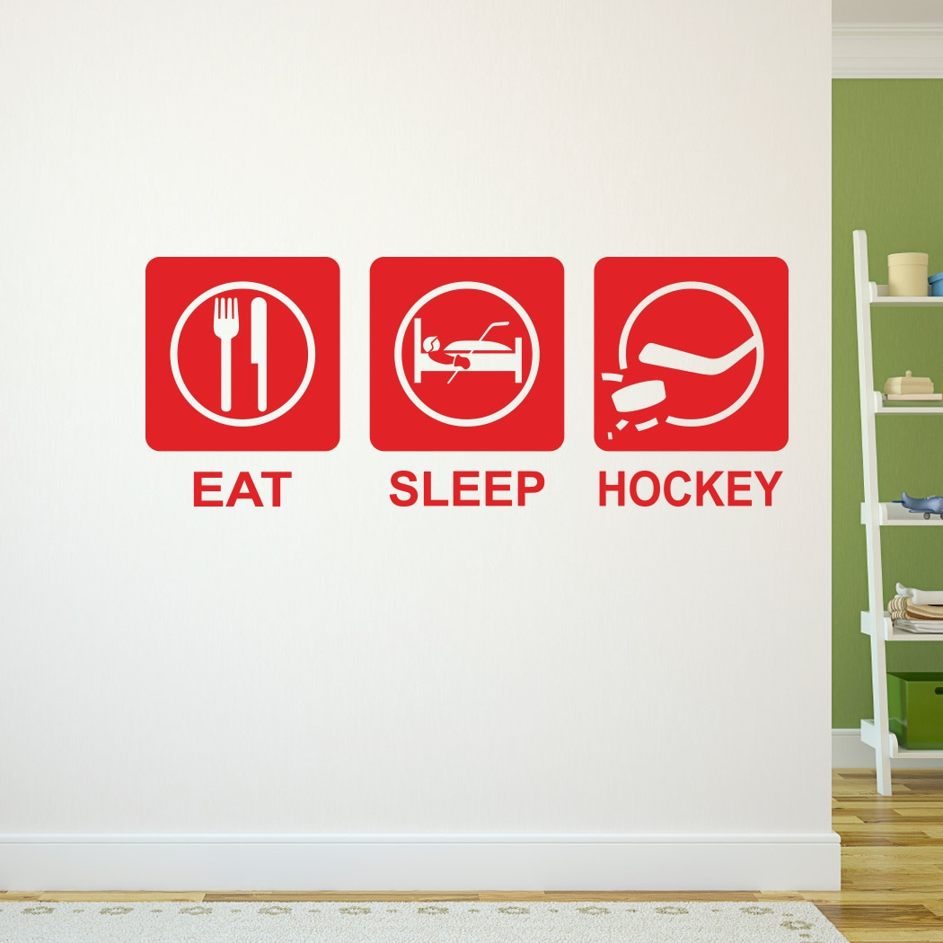 Eat sleep hockey removable chalktalkgraphix wall decal eat sleep hockey removable chalktalkgraphix wall decal chalktalkgraphix life size hockey wall stickers amipublicfo Images