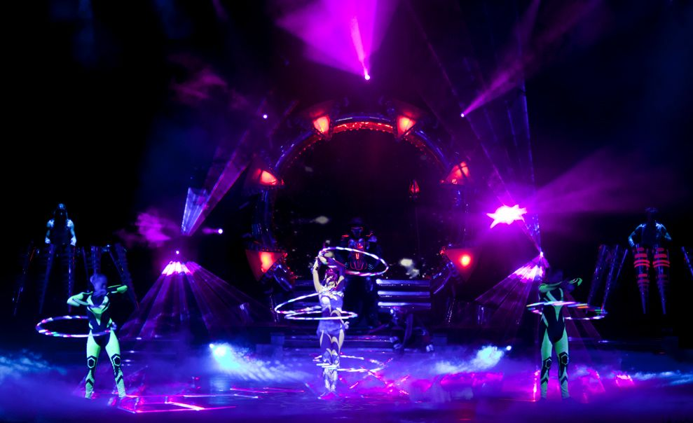 Led Hula Hoop Stage Show Dance Lights Showtastic Www