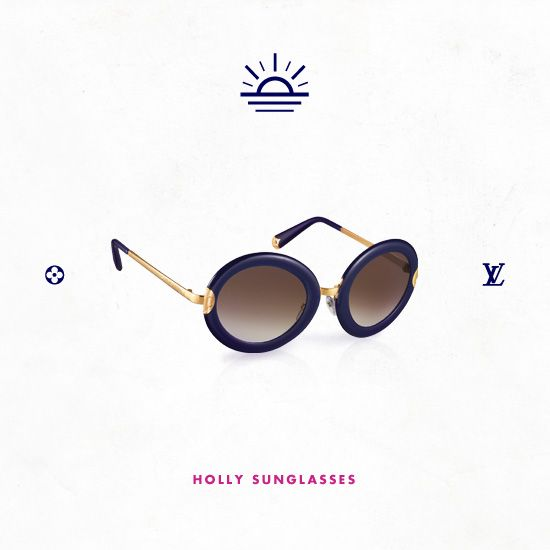 Keep cool with the #SheSoLV Petite Viola Pilote Mini Monogram Sunglasses from Louis Vuitton.