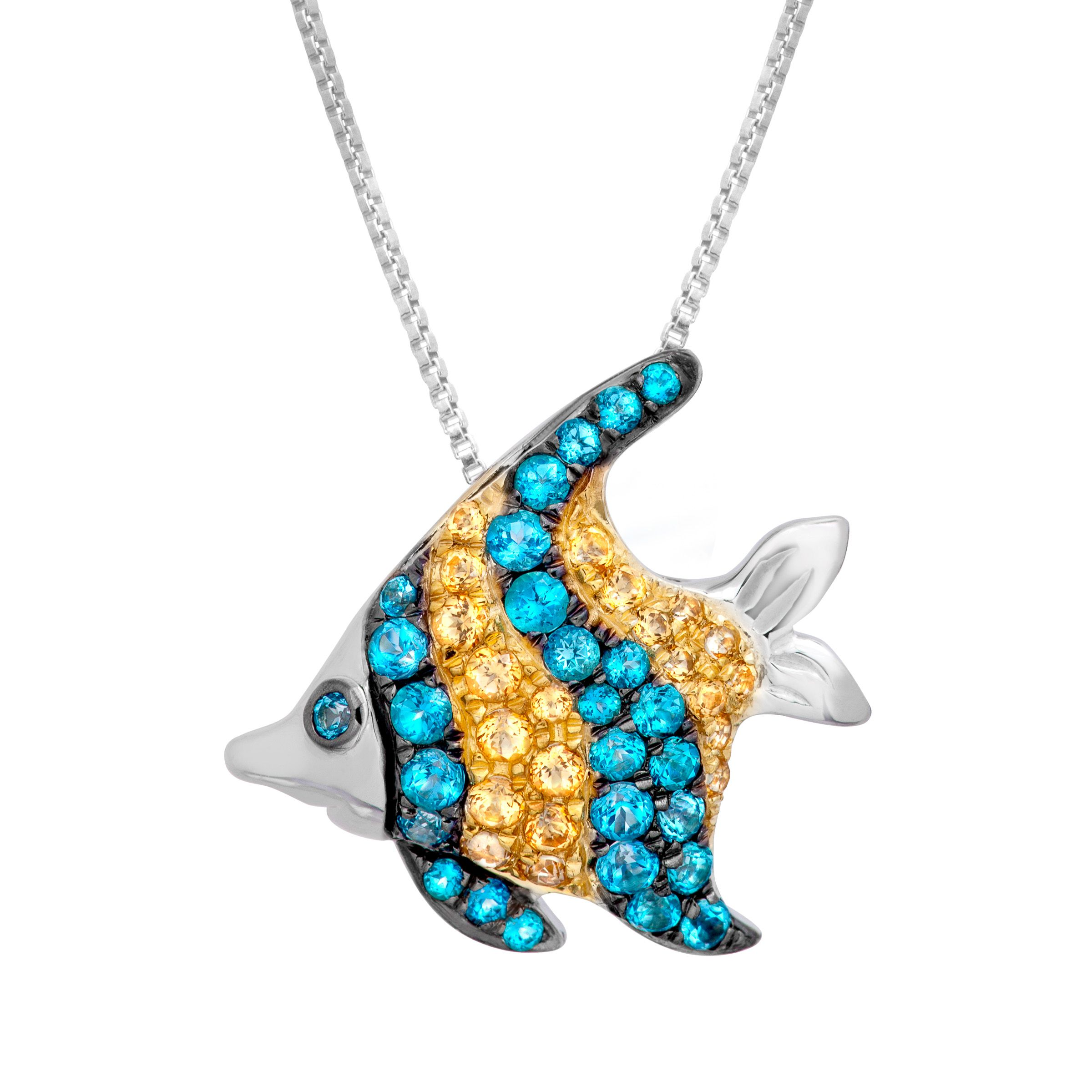 pendant house fish silver of necklace products lavande img copy necklaces sterling collections