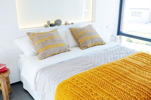 farbrausch schöner wohnen - schlafzimmer einrichtung Gelb