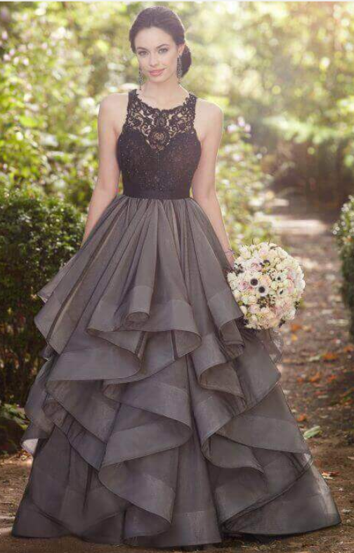 Black Ball Gown, Wedding Dress Separates #prom #promdress #dress ...