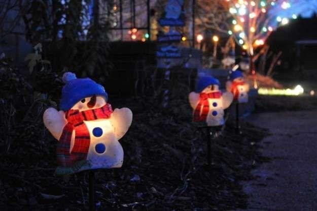 Decoracion Navidad Para Exterior Y Jardin Fotos Ideas Diy Munecos De Snowman Outdoor Decorations Snowman Christmas Decorations Outdoor Christmas Decorations