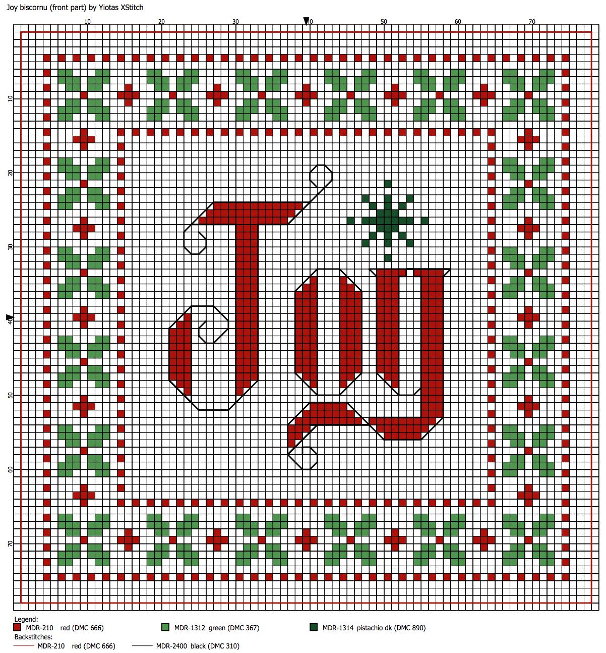 Christmas Cross Stitch Patterns New Decorating Design