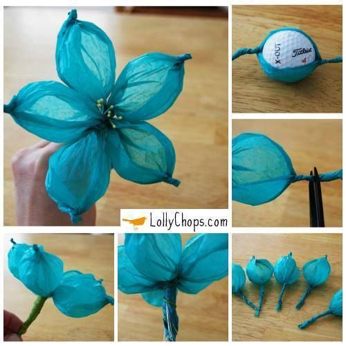 How to make a flower out of tissue paper decorations pinterest how to make a flower out of tissue paper mightylinksfo