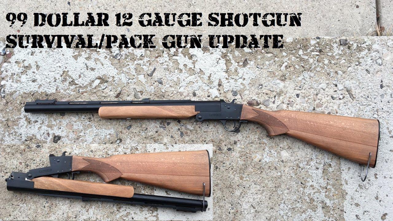 $99 Hatfield Survival Shotgun Project Wrap-up - YouTube | Firearms ...