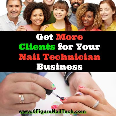 nail technician marketing nail technician tips advertising and promotion ideas get client tips make money
