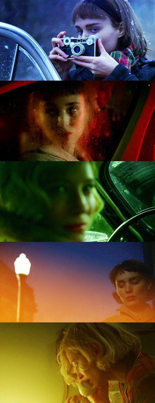"""Carol - Todd Haynes :: Fotografia linda, mas a tentativa de dramalhão tipo Douglas Sirk funcionou melhor em """"Far from Heaven"""":"""