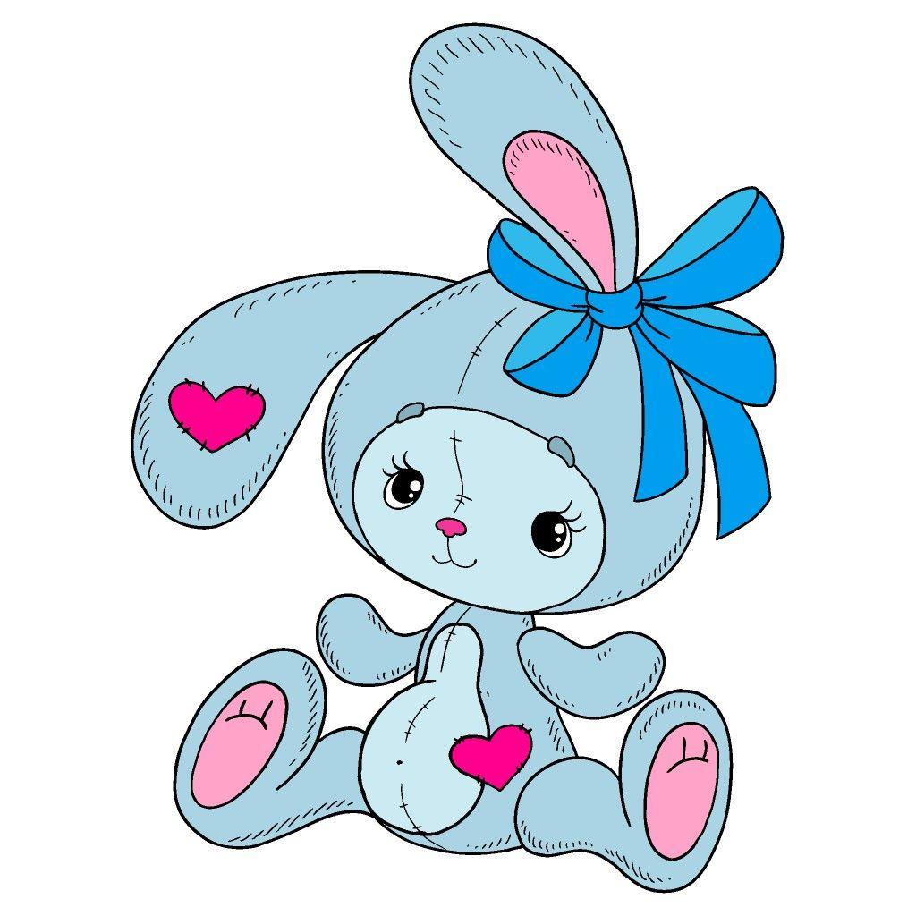 Blue Bunny | Раскраски