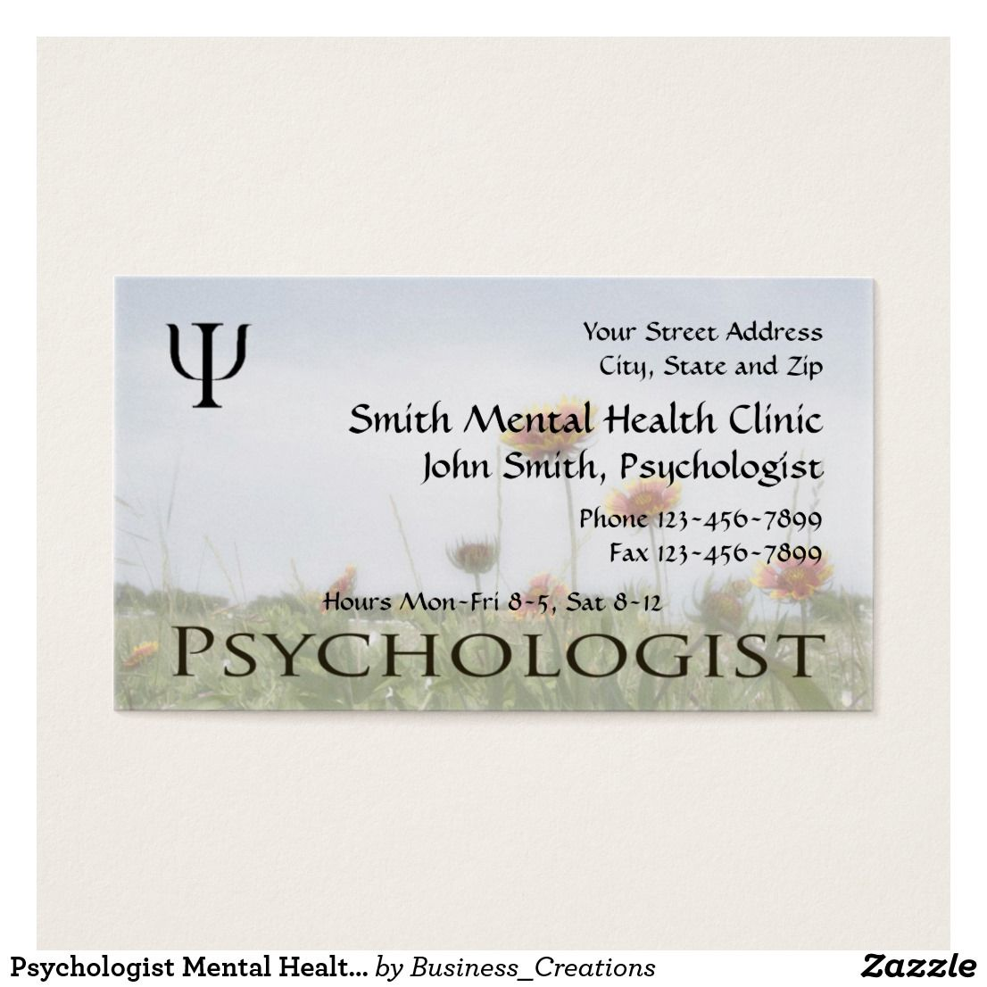 Psychologist mental health business card business cards and business psychologist mental health business card custom check out more business card designs at http colourmoves