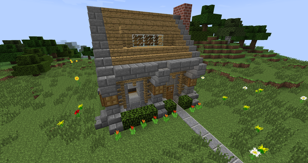 Minecraft Small House By KalianDragonmaster
