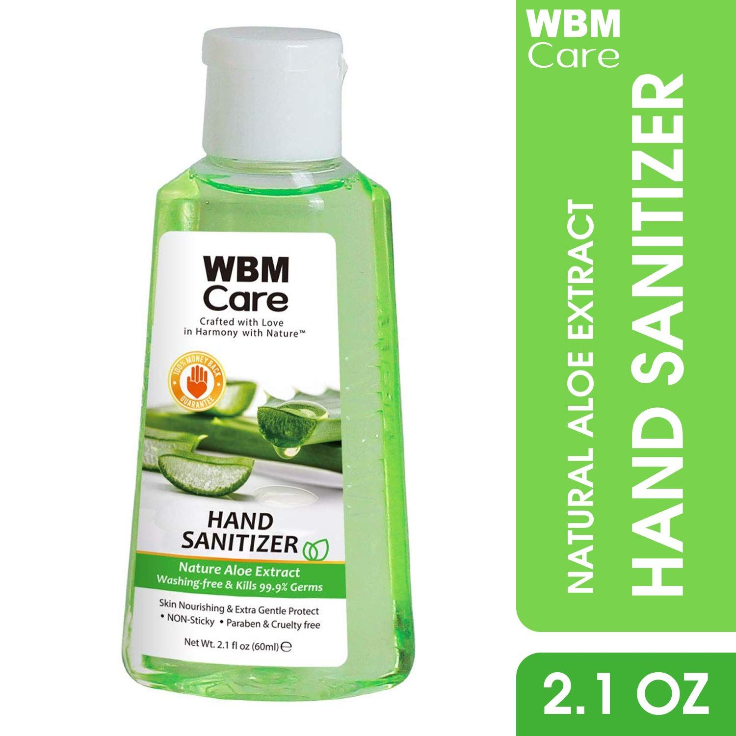 Wbmcare Hand Sanitizer Easy To Keep Hands Clean Conditioned When
