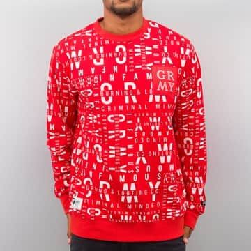 Grimey Wear Pullover rouge