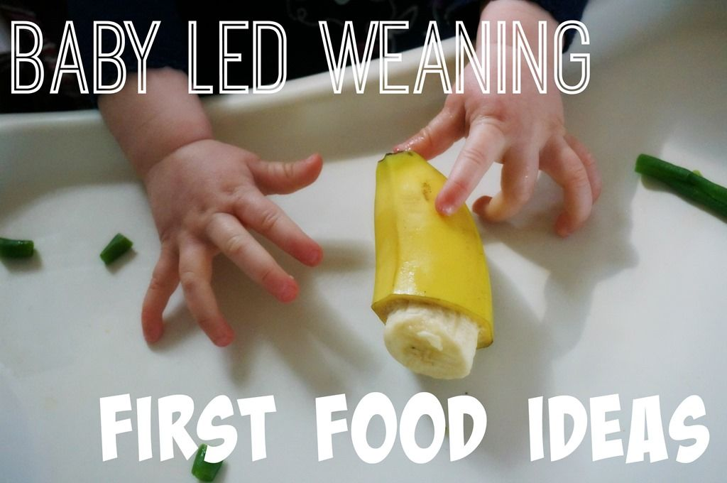 Baby Led Weaning First Food Ideas | A Healthy Slice of Life