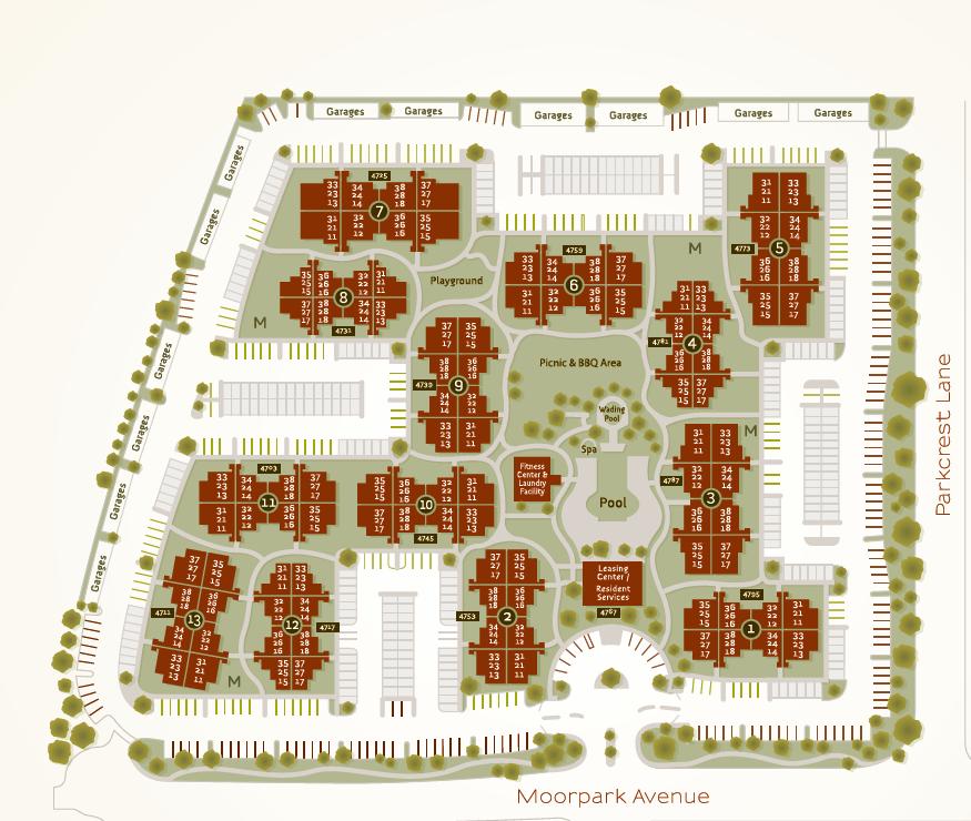 Floor Plans Of Waterstone At Moorpark In Moorpark Ca Floor Plans Moorpark Bedroom Floor Plans