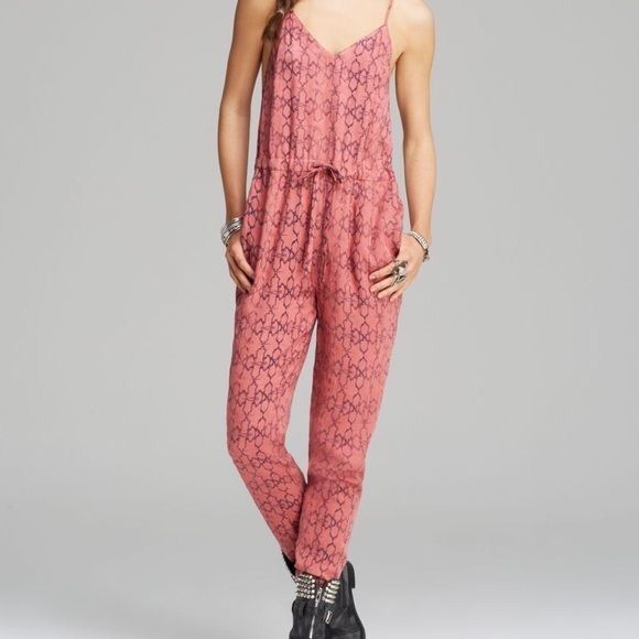 Free people sunset romper Super cute, never worn Free People Other