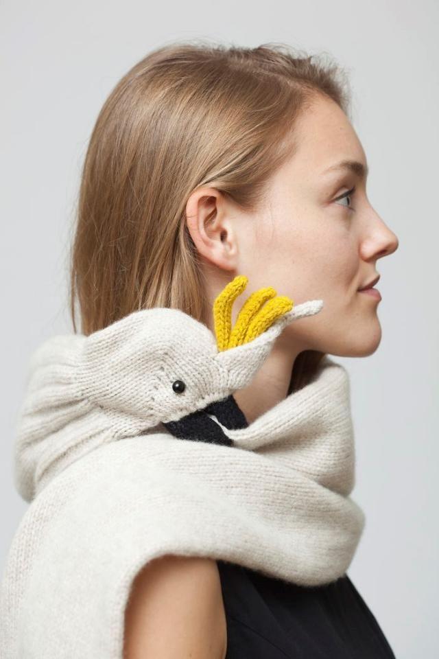 Echarpe Bite i knit scarves that bite! | für mich! | pinterest | tricot