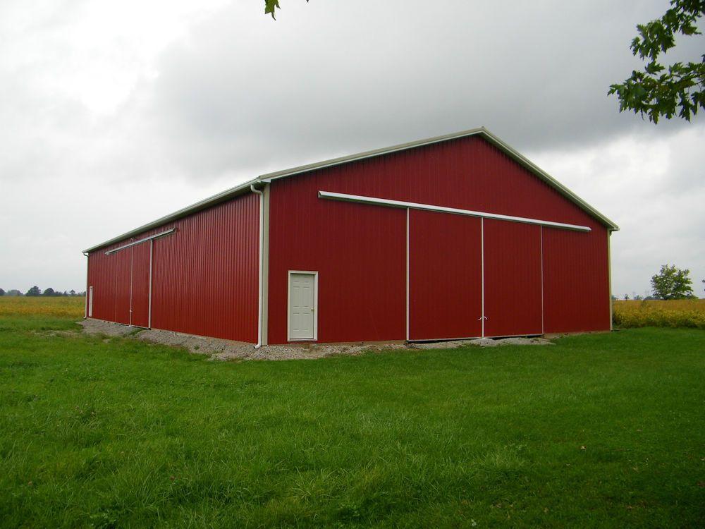 Pole barn package 40x60x12 kit garage post frame plans for Alaska garage kits