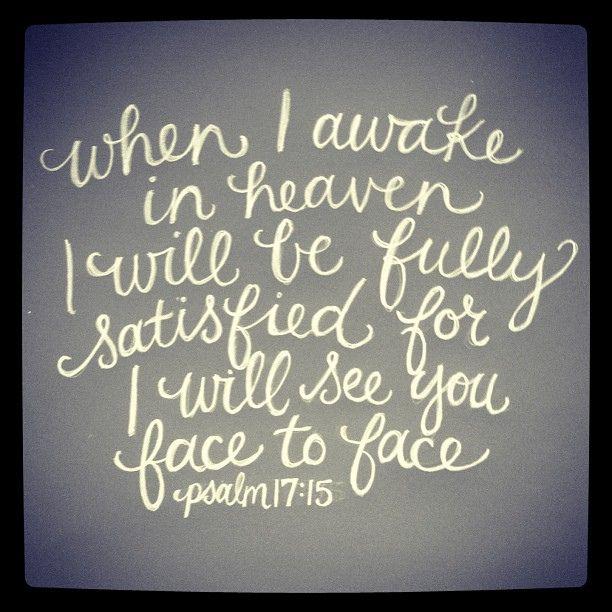 Psalm 17:15
