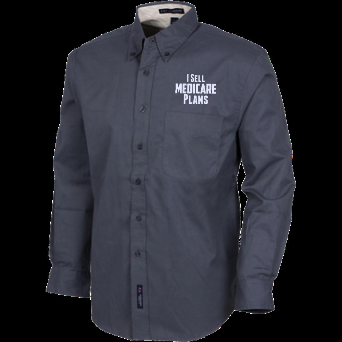 I sell medicare plans mens custom long sleeve dress shirt products