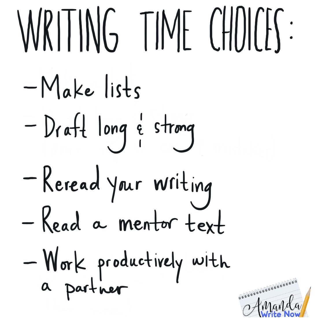 Writing Charts Amanda Write Now Writing Memes Writing Workshop Teaching Kids To Write