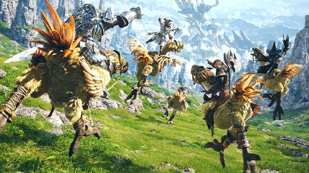 Final Fantasy XIV Beta Now Open to All on PlayStation 4 - PoppycockReviews.com