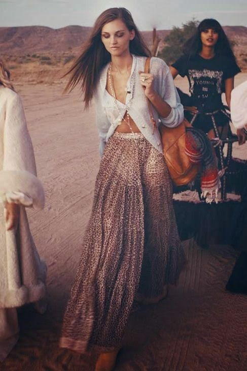 Boho, hippy, gipsy... Festival´s season started some weeks ago, and more festivals are coming next su...
