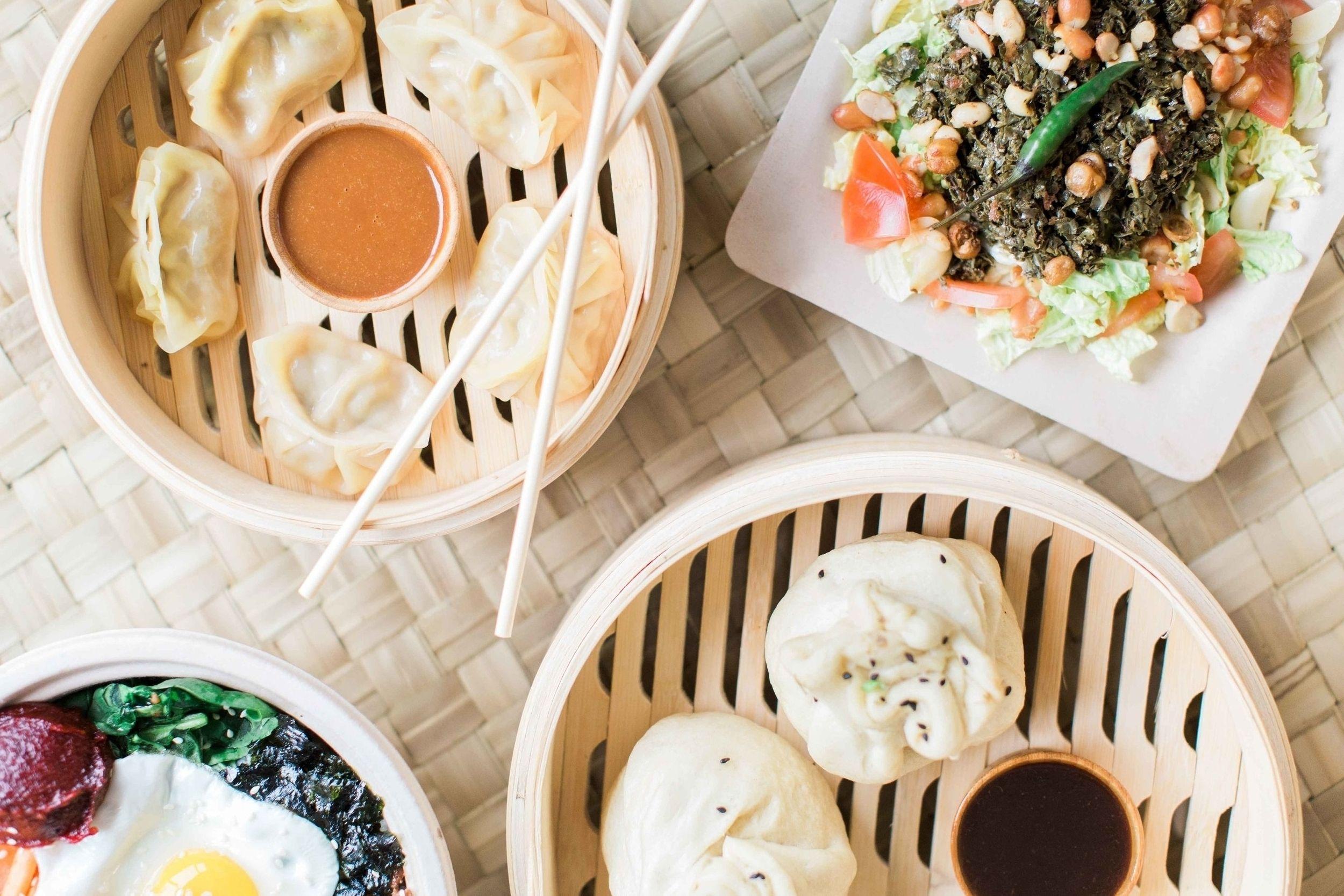 Dumplingdarlingfoodtrayjpg food street food dumpling