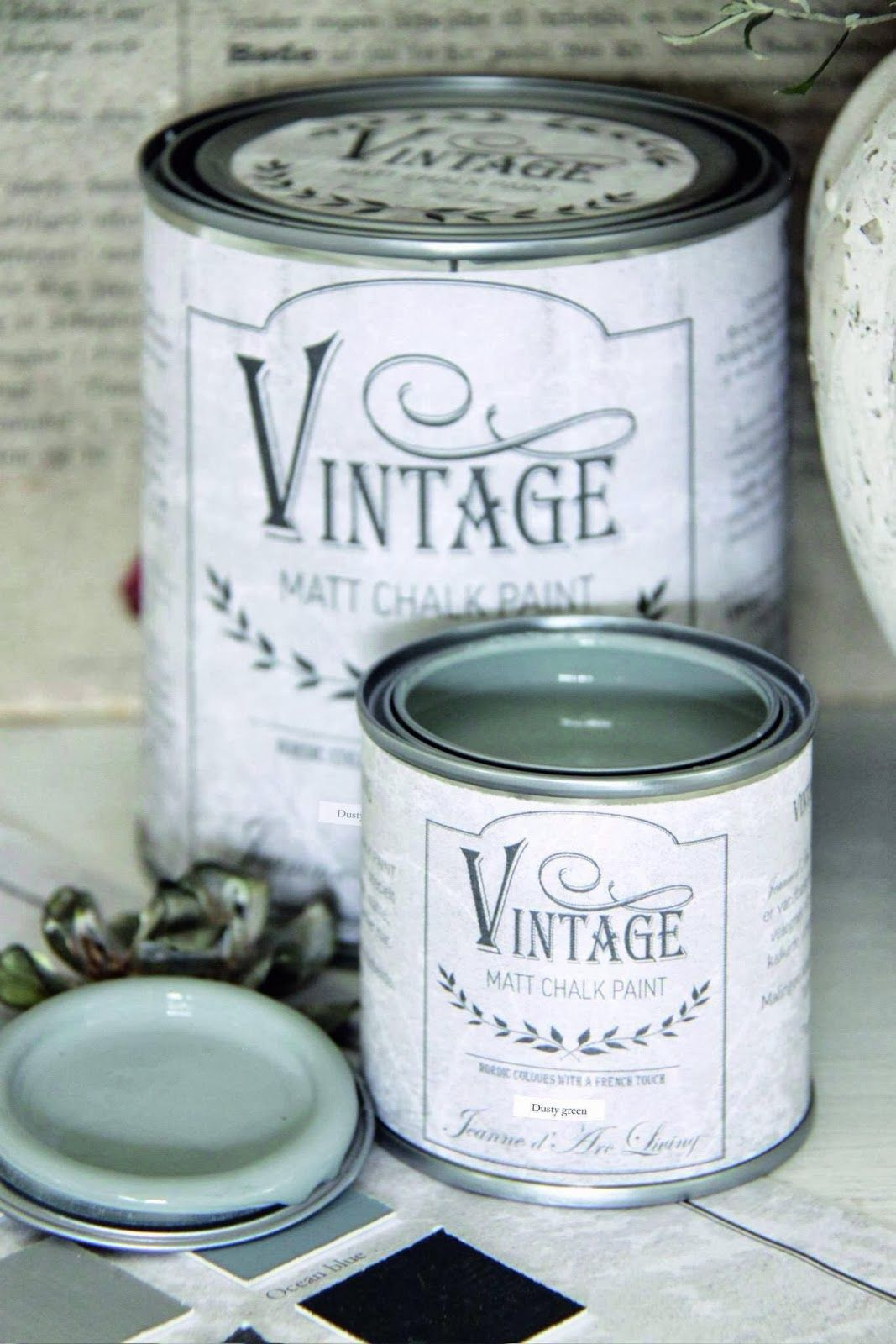 Jeanne d\'Arc Living Vintage Matt Chalk Paint, via SavvyCityFarmer ...